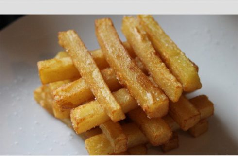 cours de cuisine- frites by anneiscooking Montmartre
